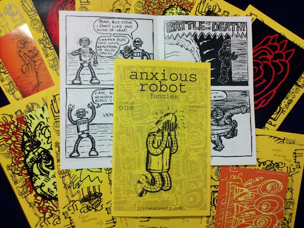 anxious robot number one